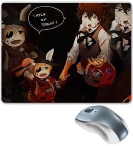 """Коврик для мышки """"D.Gray-Man/Halloween"""" - арт, в подарок, оригинально"""
