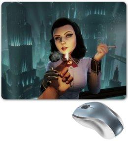 "Коврик для мышки ""bioshock infinite"" - арт, стиль, bioshock, elizabeth, война"