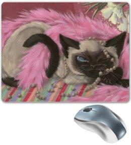 """Коврик для мышки """"Котик """" - кошка, kitty, cat"""