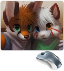 """Коврик для мышки """"March Fox"""" - прикольные, оригинально, мартовский лис"""