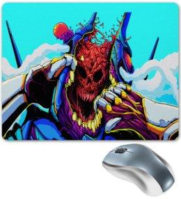 """Коврик для мышки """"Компьютерные игры"""" - череп, игры, скелет, монстр, компьютерные игры"""