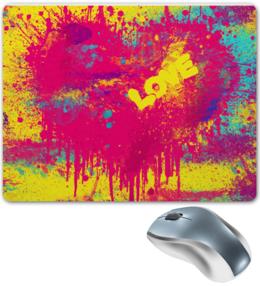 """Коврик для мышки """"Love P!nk Heart"""" - стиль, популярные, рисунок, в подарок, оригинально, коврик, креативно"""