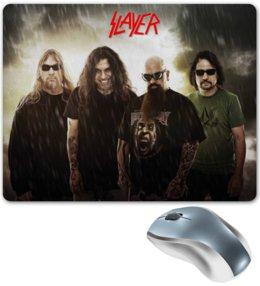 "Коврик для мышки ""Slayer 2012"" - музыка, рок, металл, slayer, thrash metal"