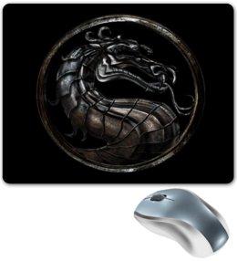 "Коврик для мышки ""мортал комбат"" - игры, дракон, mortal kombat, мортал комбат"