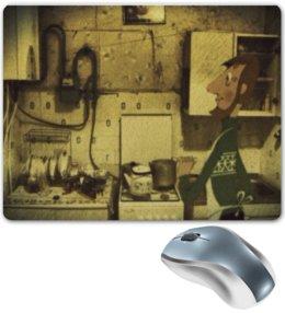 """Коврик для мышки """"Простоквашино"""" - арт, ссср, мультфильм, россия, простоквашино"""