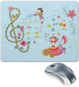 """Коврик для мышки """"Музыка"""" - музыка, дети, ноты"""