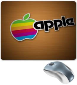 """Коврик для мышки """"Apple"""" - популярные, в подарок, креативно"""