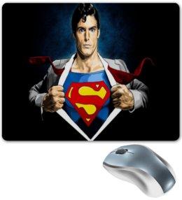 """Коврик для мышки """"Супергерой"""" - мультики, супермен, герой, мульт, супергерой"""