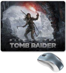 "Коврик для мышки ""Rise of The Tomb Raider"" - игра, tomb, raider, lara, croft"