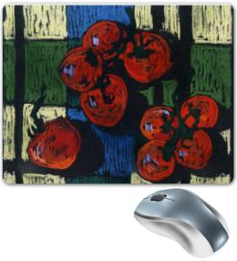 """Коврик для мышки """"Настоящие помидоры."""" - красиво, юмор, приколы, в подарок, оригинально, природа, натюрморт"""