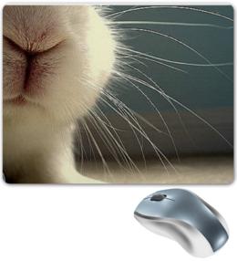 """Коврик для мышки """"Моська кролика"""" - в подарок"""
