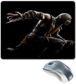 """Коврик для мышки """"Scorpion"""" - mortal kombat, скорпион, игры, компьютерные, scorpion"""