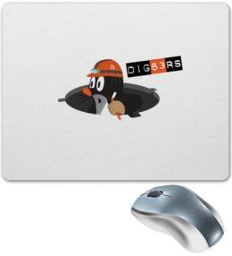 """Коврик для мышки """"Diggers"""" - прикольные"""
