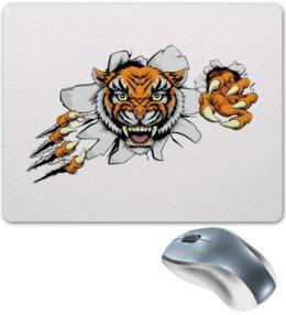 """Коврик для мышки """"Зверь"""" - хищник, животные, тигр, зверь, тигры"""