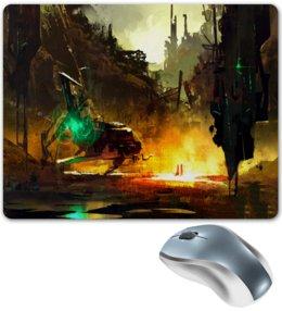 """Коврик для мышки """"Город"""" - игры, город, компьютерные игры, пейзаж, здания"""