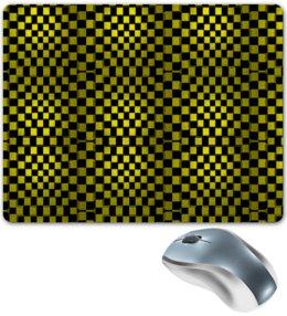 "Коврик для мышки ""Квадраты"" - графика, гонки, кубики, квадраты, такси"