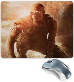 """Коврик для мышки """"Риддик / Riddick"""" - рисунок, кино, риддик"""