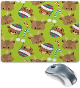 """Коврик для мышки """"Мишки"""" - конфеты, новый год, мишка, олень, медведи"""