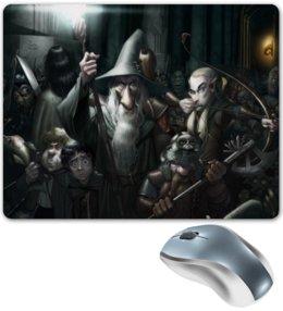 "Коврик для мышки ""The Lord of the Rings"" - арт, властелин колец, гендальф, the lord of the rings, фродо"