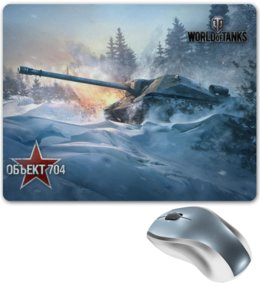 "Коврик для мышки ""World of Tanks"" - игры, world of tanks, танки, wot"