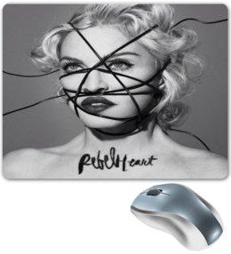 "Коврик для мышки ""Мадонна"" - музыка, поп, певица, madonna, мадонна"