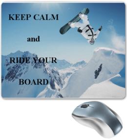 "Коврик для мышки ""Snowboard"" - горы, сноуборд, snowboard, экстрим, доска, extreme, каталка"