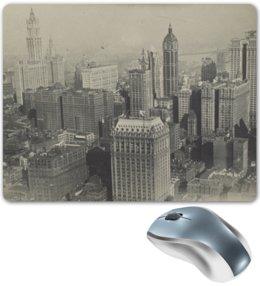 """Коврик для мышки """"New York"""" - new york, ретро, город, нью йорк"""