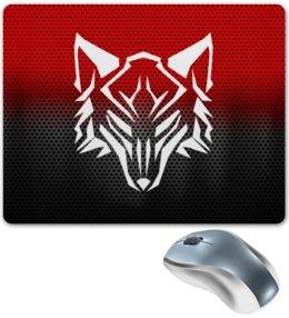 """Коврик для мышки """"Волки"""" - собаки, хищник, морда, животные, волк"""