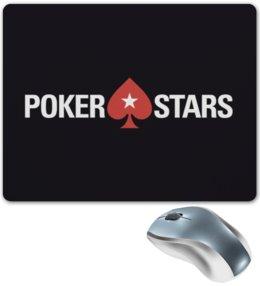 "Коврик для мышки ""POKERSTARS"" - покер, казино, pokerstars, casino, full tilt poker"