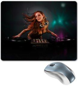 """Коврик для мышки """"DJ MUSIC"""" - музыка, dj, club"""