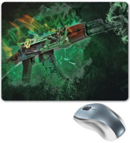 "Коврик для мышки ""Counter-Strike"" - counter strike, контер страйк, контра"