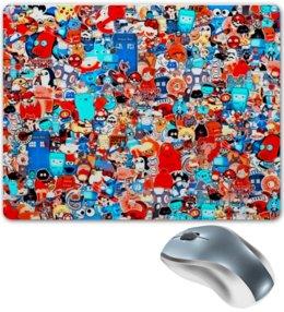 """Коврик для мышки """"Мульт"""" - мультики, симпсоны, игрушки, покемон, человек паук"""