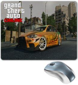 """Коврик для мышки """"Grand Theft Auto 5"""" - парню, подарок, геймеру"""