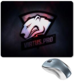 "Коврик для мышки ""Виртус про"" - virtus pro, виртус про, виртуса, медведь, cs go"