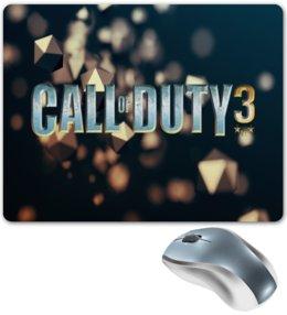 """Коврик для мышки """"Call of Duty"""" - игры, компьютерные игры, надписи, call of duty, зов долга"""