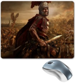 """Коврик для мышки """"Легионы Рима"""" - путь воина, денис гесс, история, римская империя, рим"""