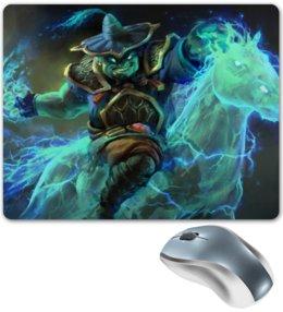 """Коврик для мышки """"Dota 2 - Storm Spirit"""" - dota 2, дота 2, storm spirit, dota 2 storm spirit, шторм спирит"""
