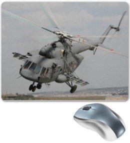 "Коврик для мышки ""Ми-28(Ми-8)"" - вертолёт, helicopter, ми-8, полёт вертолёта, взлёт вертолёта"