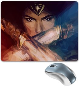 "Коврик для мышки ""Чудо-Женщина (Wonder Woman)"" - комиксы, dc comics, wonder woman, justice league, лига справедливости"