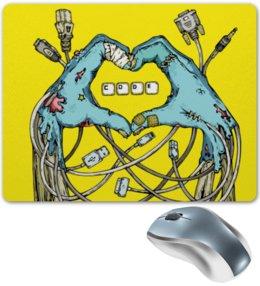 """Коврик для мышки """"Coding"""" - зомби, руки, geek, программирование, code"""