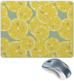 """Коврик для мышки """"лимоны"""" - лето, фрукты, лимон, лимоны, цитрусовые"""