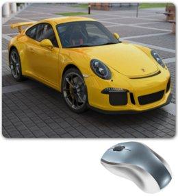 "Коврик для мышки ""Porsche 911 GT3"" - 911, porsche, порш, порше, porsche 911 gt3"
