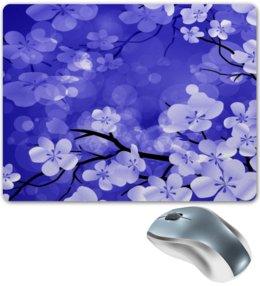 """Коврик для мышки """"Весенние цветки"""" - весна, дерево, цветы, цветочки, природа"""