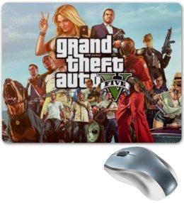 "Коврик для мышки ""GTA 5"" - gta 5, grand theft auto 5, игра gta 5"