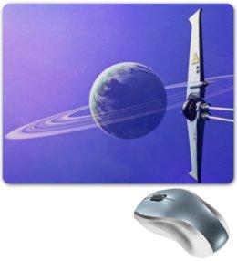 "Коврик для мышки ""Digital"" - планета, космос, digital art, кольца, rings"