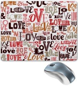 """Коврик для мышки """"Love."""" - любовь"""