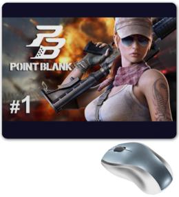 "Коврик для мышки ""Point Blank"" - игры, онлайн-игры, шутеры"