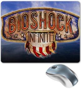 """Коврик для мышки """"Bioshock Infinite"""" - bioshok infinite, биошок, bioshock, infinite, video games"""