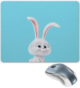 """Коврик для мышки """"Снежок"""" - снежок, тайная жизнь домашних животных, the secret life of pets, snowball"""