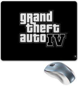 "Коврик для мышки ""GTA4"" - grand theft auto, gta, xbox, video game, play station"